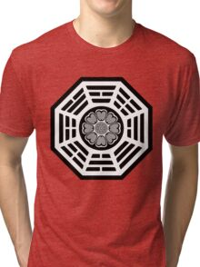 Dharma Initiative White Lotus Tri-blend T-Shirt