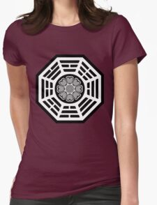 Dharma Initiative White Lotus Womens Fitted T-Shirt