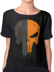 Punisher Deathstroke Chiffon Top