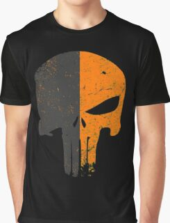 Punisher Deathstroke Graphic T-Shirt
