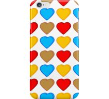 Candy Heart Bold Pattern iPhone Case/Skin