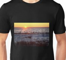 Sunrise at Churchill, Canada Unisex T-Shirt