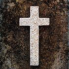 "Graveyard Adornments #36 -  "" The Cross "" by Malcolm Heberle"
