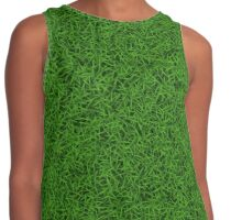 Green Grass Contrast Tank