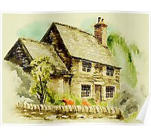 North Country Dream Cottage Poster