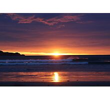 Sunset in the Catlins - New Zealand Photographic Print