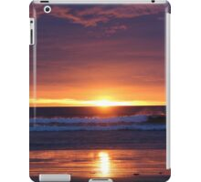 Sunset in the Catlins - New Zealand iPad Case/Skin