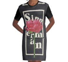 Sinner Man Graphic T-Shirt Dress