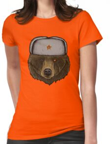Comrade Bear Womens Fitted T-Shirt