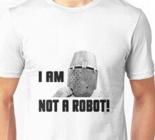 Knight - I Am Not A Robot Unisex T-Shirt