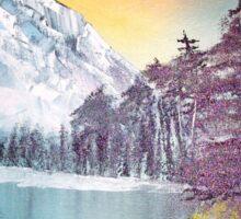 Snow landscape Sticker