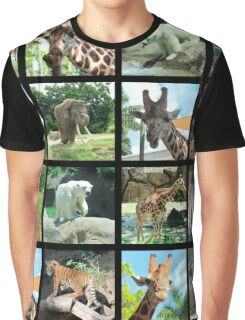 ANIMAL SAFARI PHOTO DESIGN Graphic T-Shirt
