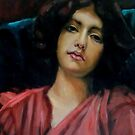 Reverie after John William Godward by Hidemi Tada