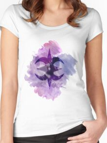 Nohr Royal Crest Watercolor Women's Fitted Scoop T-Shirt