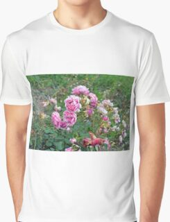 Colorful flowers in the garden. Graphic T-Shirt