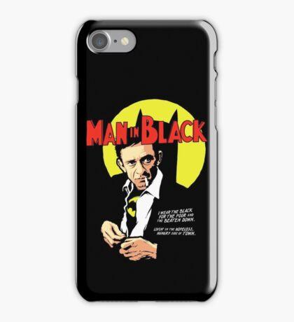 Man In Black Suit iPhone Case/Skin