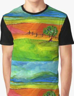 The countryside Graphic T-Shirt