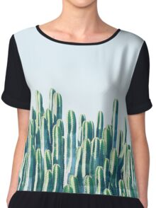 Cactus V2 #redbubble #home #lifestyle #buyart #decor Chiffon Top