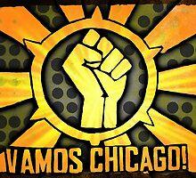 Vamos Chicago, Sunburst! by Ricecake