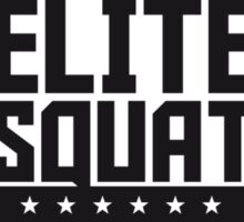 Elite Squad Team Crew Soldiers Sticker