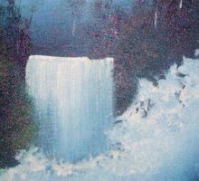 Waterfall Creek Sticker