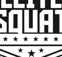 Elite Squad Team Crew Rang Soldiers Sticker