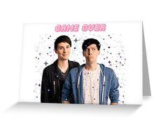 Dan and Phil Greeting Card