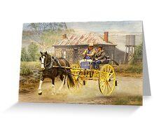 High Country Ramble Greeting Card