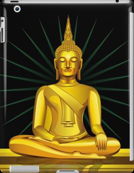 Buddha iPhone Case/ iPad Case/ Prints  / Samsung Galaxy Cases  by CroDesign