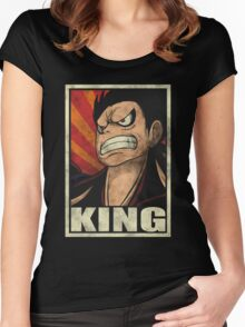 One Piece - King Women's Fitted Scoop T-Shirt