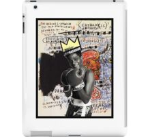 Basquiat (black border) iPad Case/Skin