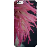 Pink sea anemone iPhone Case/Skin
