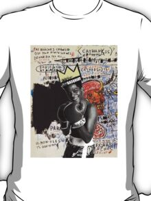 basquiat (white border) T-Shirt