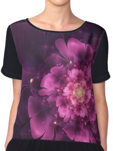 Tribute - Abstract Fractal Artwork Chiffon Top