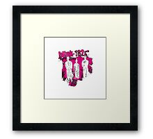 blink  Framed Print
