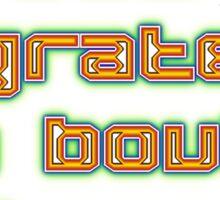 Watts Sew Grate Design Sticker