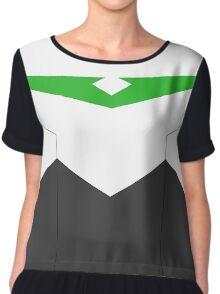 Paladin Armor - Green Chiffon Top