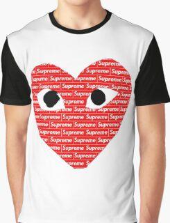 Commes des Garcons x Supreme Graphic T-Shirt