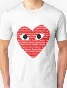 Commes des Garcons x Supreme Unisex T-Shirt