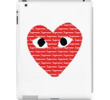 Commes des Garcons x Supreme iPad Case/Skin