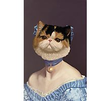The Princesse de Meow-lie Photographic Print
