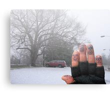 Winter Vacations Canvas Print