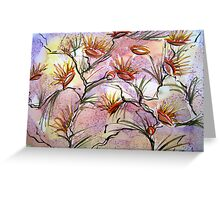 Bush Flowers by Heather Holland Greeting Card