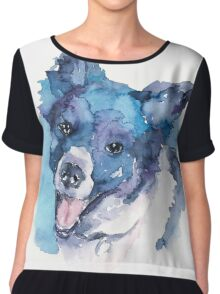 DOG#15 Chiffon Top
