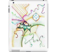 Abstract Rainbow Eye iPad Case/Skin