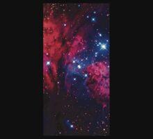 Beautiful Galaxy Nebula One Piece - Short Sleeve