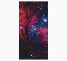 Beautiful Galaxy Nebula Baby Tee