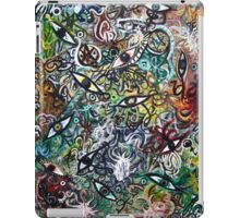 Abstract Psychedelic Geometric Eyes iPad Case/Skin