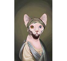 Portrait of a Feline Photographic Print