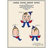 Humpty Dumpty Patent Photographic Print